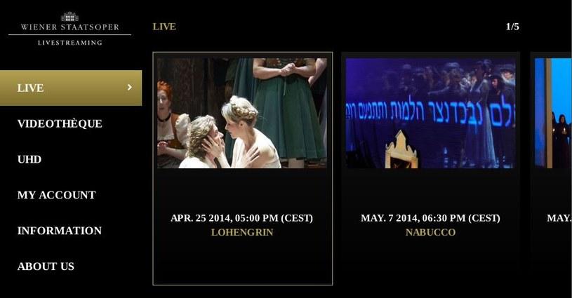 Pierwsza na świecie globalna transmisja opery w rozdzielczości UHD /materiały prasowe