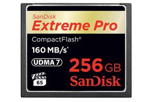 Pierwsza na świecie karta CompactFlash o pojemności 256 GB