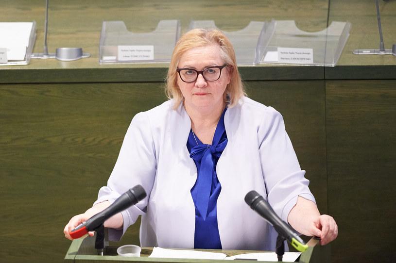 Pierwsza Prezes Sądu Najwyższego Małgorzata Manowska /Łukasz Szeląg /Reporter
