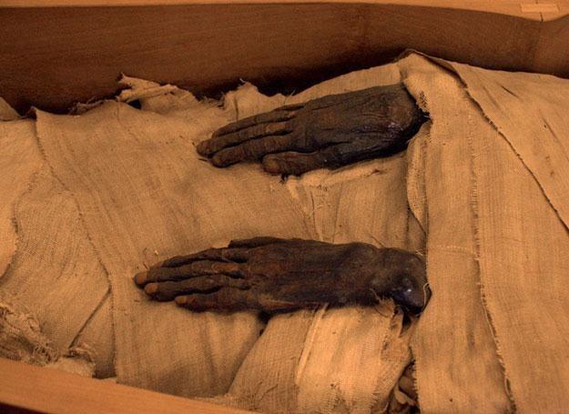 Pierwszą próbę odtworzenia wyglądu faraona podjęto w 2002 roku /East News