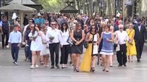 Pierwsza rocznica ataku terrorystycznego w Barcelonie. Na La Rambli zginęło 16 osób