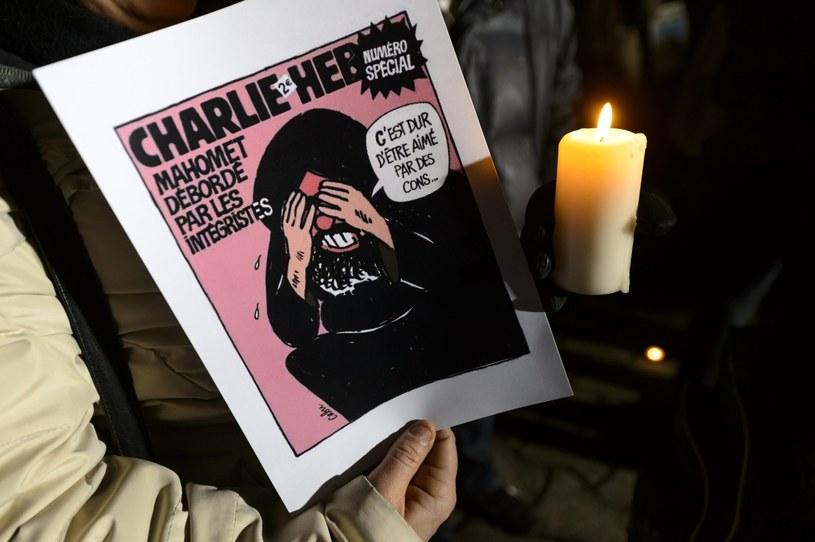 """Pierwsza strona tygodnika """"Charlie Hebdo"""" /PAP/EPA"""