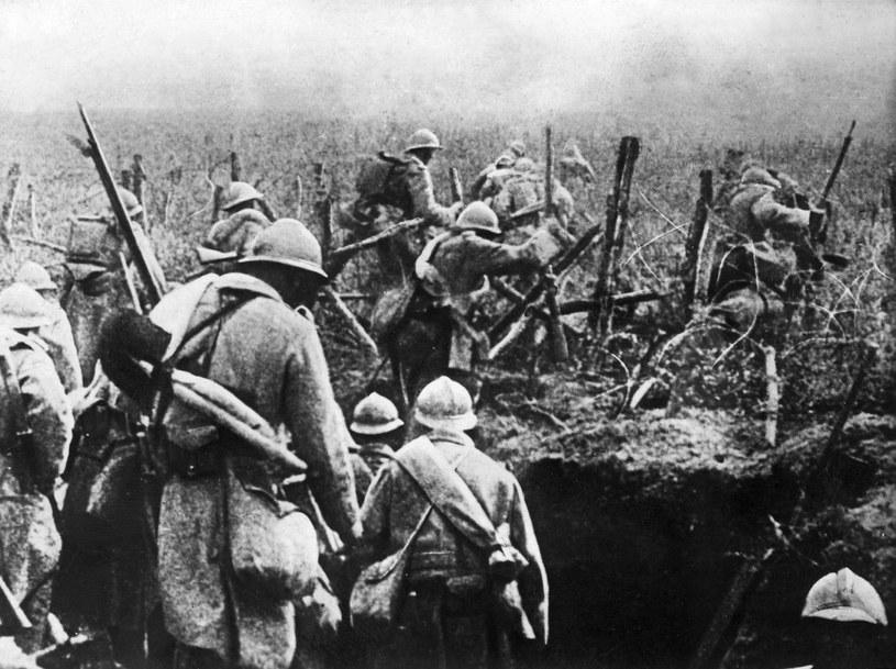 Pierwsza wojna światowa była jednym z najtragiczniejszych konfliktów w historii /ARCHIVES /AFP