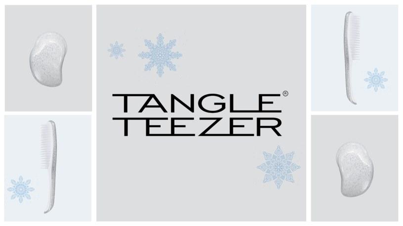 Pierwsza zimowa kolekcja szczotek Silver Glitter od Tangle Teezer! /INTERIA.PL/materiały prasowe