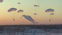 Pierwsze ćwiczenia rosyjskich spadochroniarzy w 2019 roku. Symulowali także przejęcie lotniska