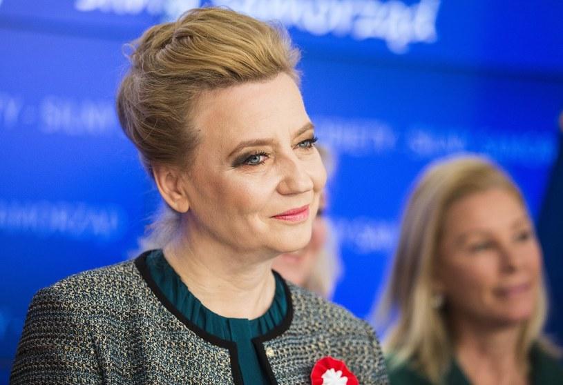 Pierwsze miejsce w sondażu zajęła Hanna Zdanowska /Andrzej Hulimka  /Reporter