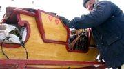 Pierwsze na Podhalu... sanki na kółkach