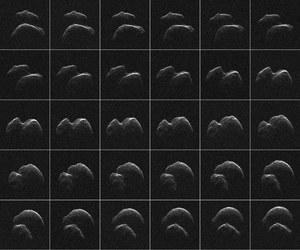 Pierwsze obrazy planetoidy 2014 JO25