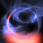Pierwsze obserwacje materii krążącej blisko czarnej dziury