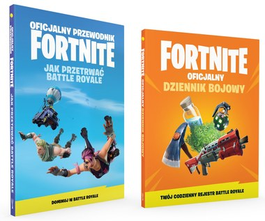 """Pierwsze oficjalne książki do """"Fortnite Battle Royale"""" Wydawnictwa Insignis już 1 czerwca w księgarn"""