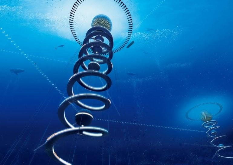 Pierwsze podwodne miasto powstanie na Pacyfiku, w okolicach archipelagu Kiribati /materiały prasowe