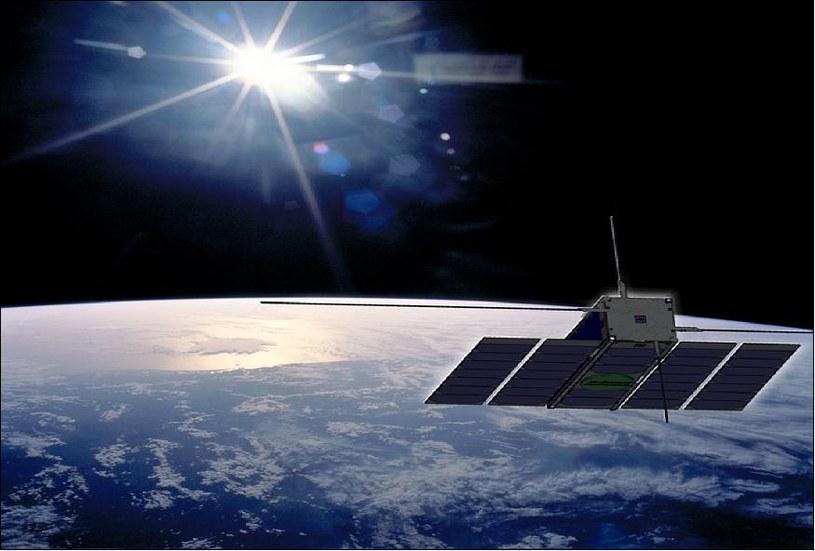 PIerwsze polskie oprogramowanie w kosmosie /materiały prasowe