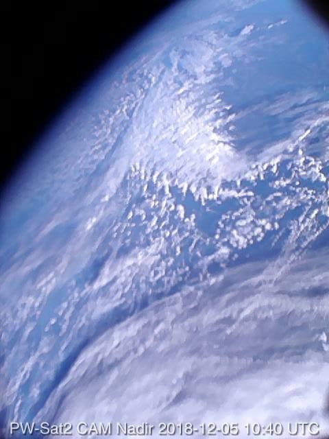 Pierwsze polskie zdjęcie satelitarne /materiały prasowe