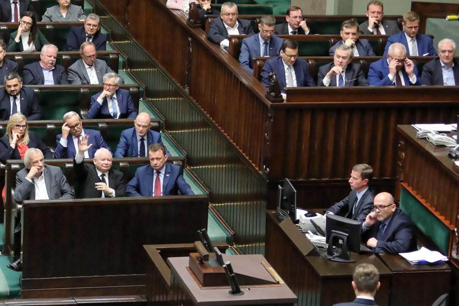 Pierwsze posiedzenia Sejmu w nowej kadencji /Leszek Szymański /PAP