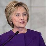"""Pierwsze publiczne wystąpienie Clinton po wyborach. Zaapelowała o walkę z """"fałszywą propagandą"""""""