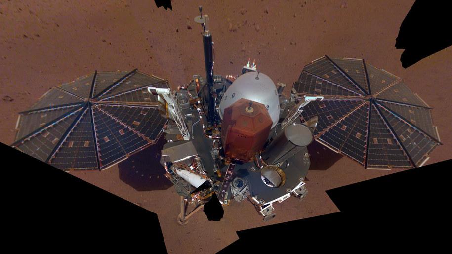 Pierwsze selfie sondy InSight przesłane z Marsa / NASA/JPL-Caltech /Materiały prasowe