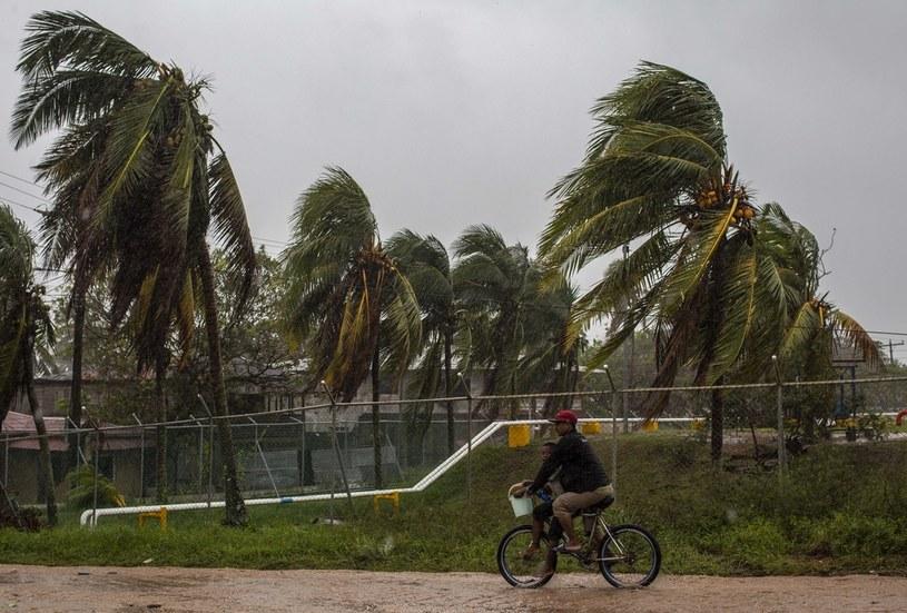 Pierwsze symptomy huraganu Iota w Nikaragui /STR / AFP /AFP