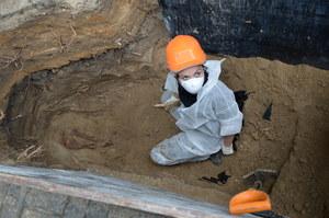 Pierwsze szkielety znalezione na warszawskim Służewie