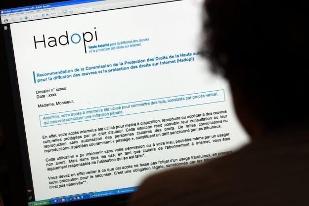 Pierwsze zawieszenie dostępu do internetu na podstawie HADOPI może być też zawieszeniem ostatnim... /AFP