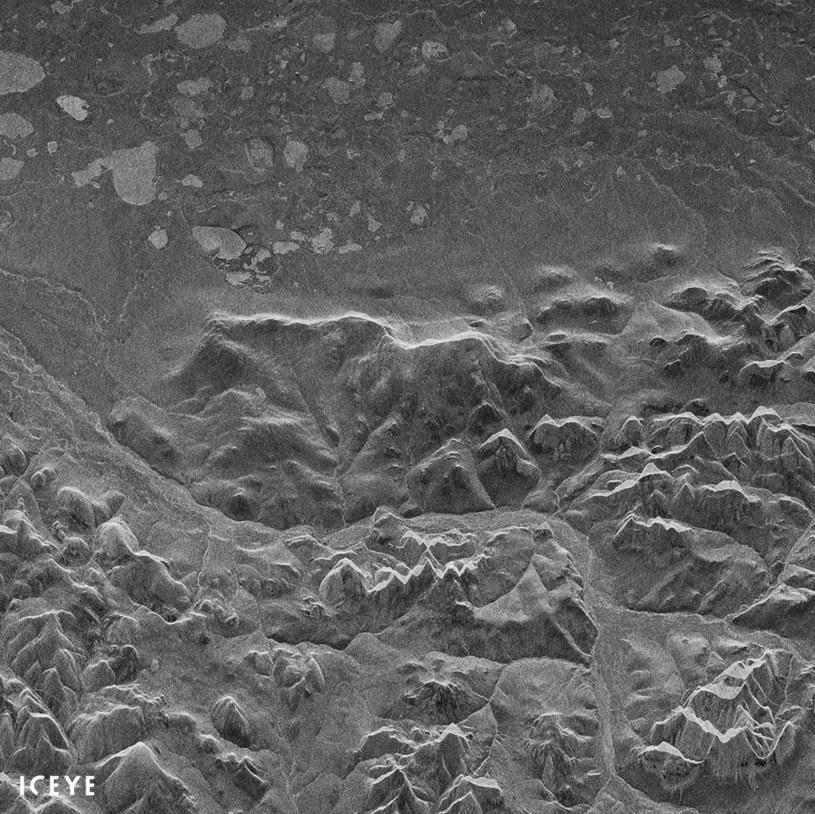 Pierwsze zdjęcie radarowe z satelity ICEEYE-X1 /materiały prasowe