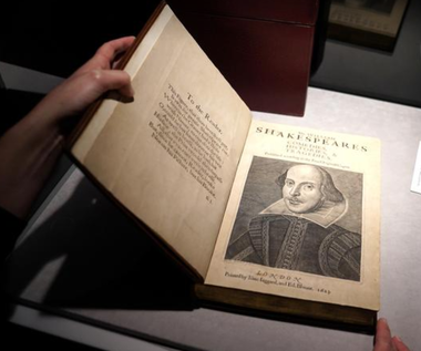 Pierwszego Folio Szekspira za 9,97 mln dolarów
