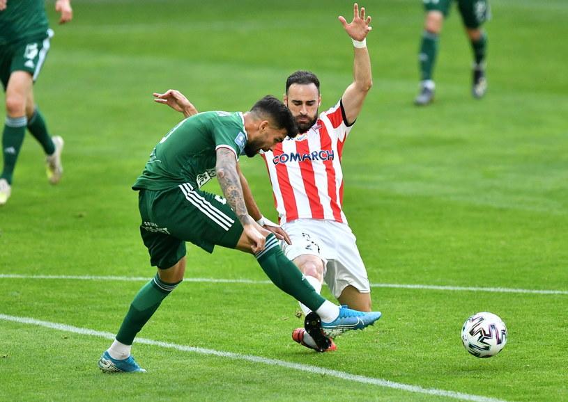 Pierwszego gola dla Cracovii strzelił Rafael Lopes /PAP