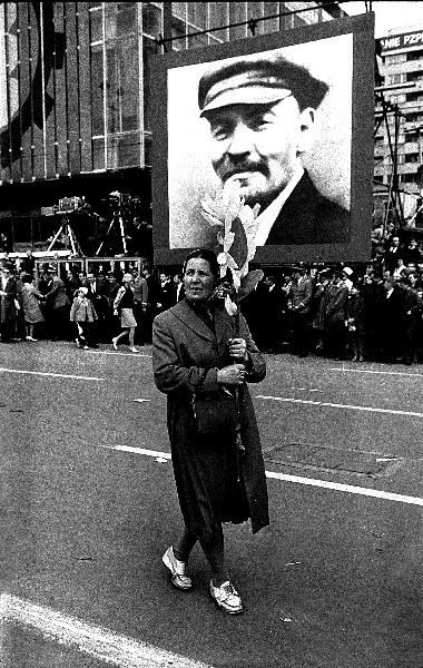 Warszawa 01.05.1967 r., pochód pierwszomajowy