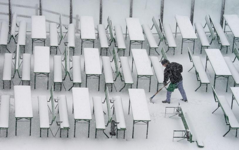 Pierwszy atak zimy (fot. ilustracyjna) /PAP/EPA