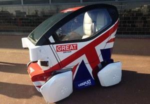 Pierwszy autonomiczny samochód w Wielkiej Brytanii