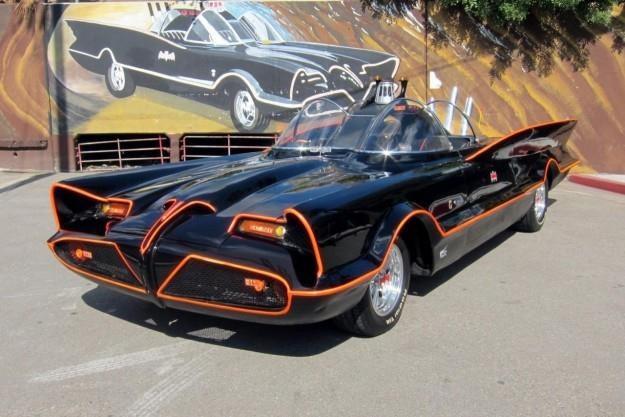 Pierwszy Batmobil. Auto warte miliony dolarów /