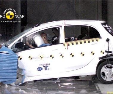 Pierwszy crashtest pojazdu elektrycznego