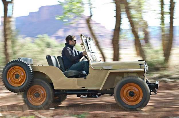 Pierwszy cywilny jeep /INTERIA.PL