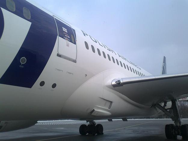 Pierwszy Dreamliner w barwach LOT-u. Fot. Krzysztof Mrówka /INTERIA.PL