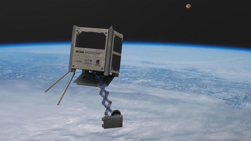 Pierwszy drewniany satelita gotowy do lotu w kosmos elektryczną rakietą /Geekweek