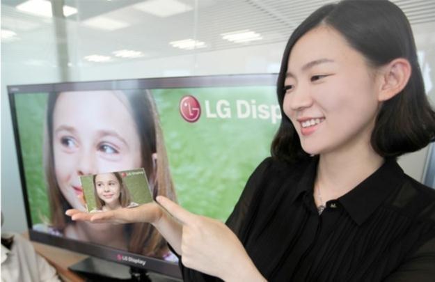 Pierwszy ekran tego typu zaprezentowało LG /materiały prasowe