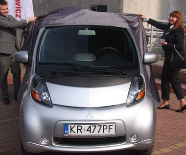 Pierwszy elektryczny samochód w Krakowie