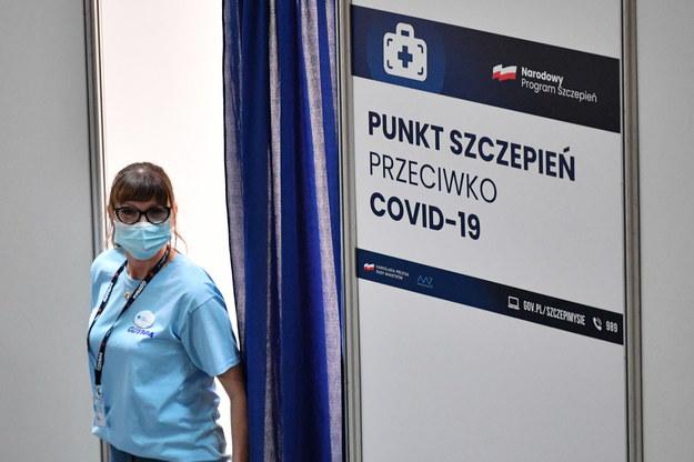 Pierwszy gdyński Punkt Szczepień Powszechnych otwarto w Arenie Gdynia / Adam Warżawa    /PAP