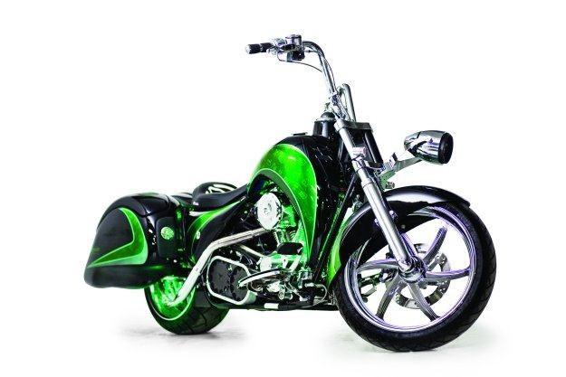 Pierwszy hybrydowy motocykl /