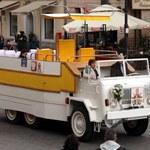 Pierwszy i jedyny polski papamobile