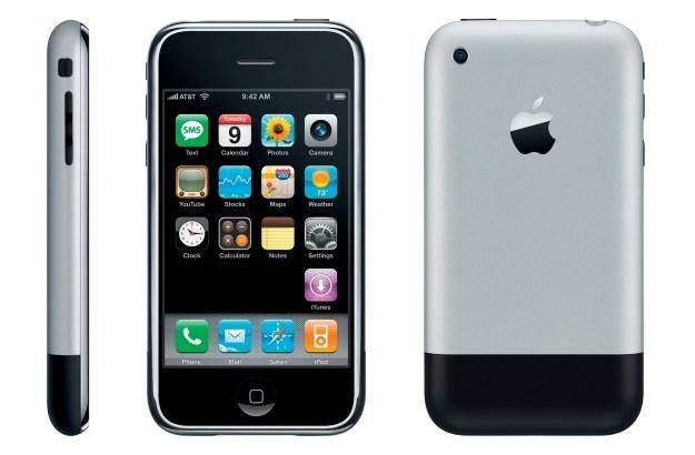 Pierwszy iPhone ma 9 lat /materiały prasowe