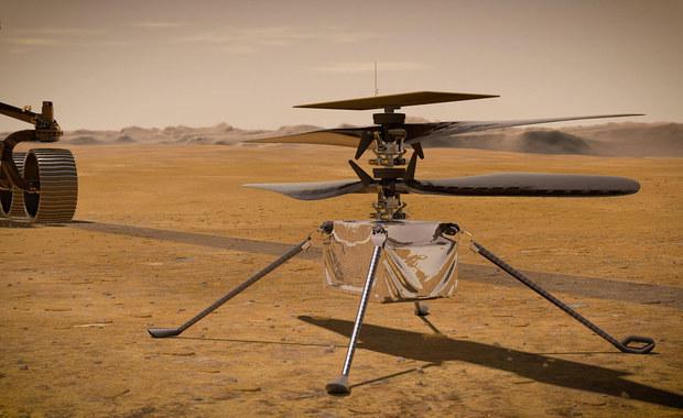 Pierwszy lot helikopterka na Marsie już wkrótce