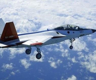 Pierwszy lot japońskiego myśliwca X-2