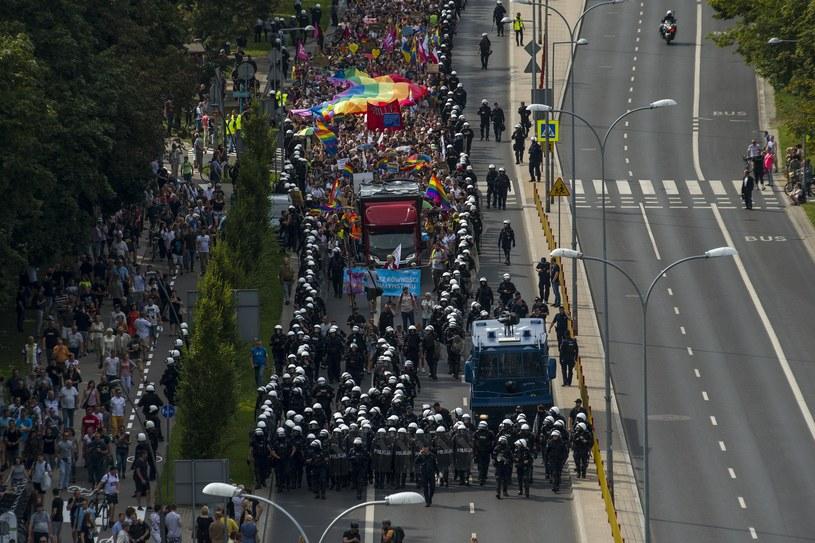 Pierwszy Marsz Równości w Białymstoku /MICHAL KOSC /Agencja FORUM
