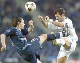 Pierwszy mecz FC Porto z Interem zakończył się remisem 1:1 /AFP