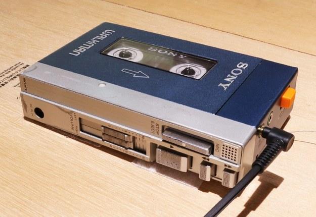 Pierwszy model walkmana, oficjalnie nazwany TPS-L2. /Matt Alt /materiały promocyjne