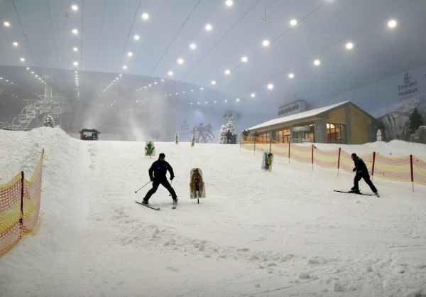 Pierwszy na Bliskim Wschodzie kurort narciarski /AFP