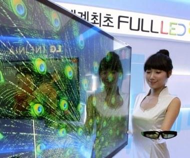 Pierwszy na świecie telewizor 3D  Full LED