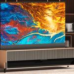 Pierwszy na świecie telewizor z rolowanym ekranem laserowym