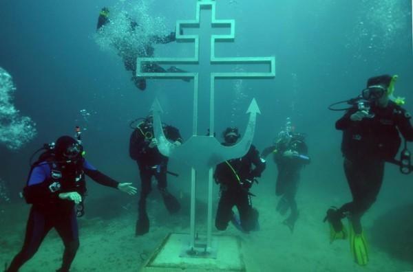 Pierwszy podwodny kościół prawosławny powstanie ok. 200 m od Przylądka Fiolent /materiały prasowe