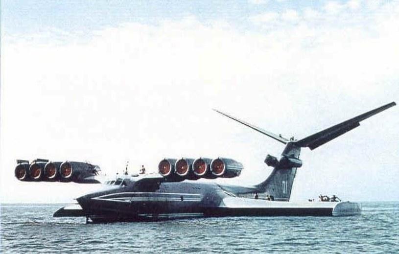 Pierwszy prototyp ekranoplanu KM /INTERIA.PL/materiały prasowe